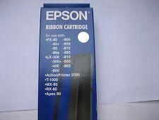 Epson #8750 LX-300 LQ-300 + NASTRO COLORATO ORIGINALE lq-850 + lq-570 FX800