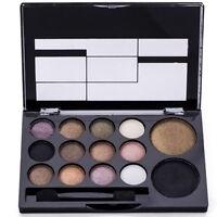 1× Eyeshadow Lidschatten 14 Farbe Palette Make-up Set Schönheit Kosmetik