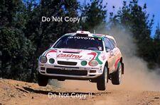 Didier AURIOL TOYOTA CELICA GT-FOUR ST205 RALLY Australiano fotografia 1995