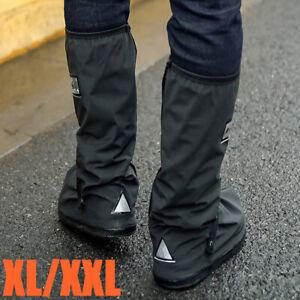 Wasserdichte Überschuhe Schuhüberzieher Fahrrad Schuhe Regenschutz Rutschfest