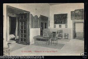 547.-MADRID -El Escorial - Habitación de la hija de Felipe II (C.,A. y L.)