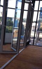 ALUMINIUM BIFOLD DOOR   DOUBLE GLAZED - 2360h x 2410w - 330