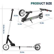 Foldable Electric Scooter Motorized Kick Skateboard 2-wheel Booster 250W Adult