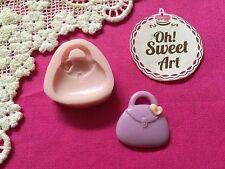 Purse Handbag Silicone  Mold Food Safe Cake Decoration Candy Cupcake (FDA)