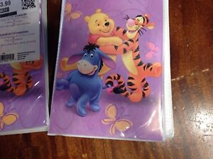 "3 Disney Winnie The Pooh Photo Album 36 4""x6"" Photo Safe Pages Storage new"