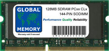128 Mo PC66 PC100 PC133 144-PIN SDRAM SODIMM Mémoire RAM pour Apple Ordinateurs Portables/PC