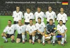 Fußball Weltmeisterschaft 2002 + Deutschland zweiter Platz + Vize + BigCard #484