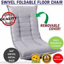 Swivel Foldable Video Game Nintendo Xbox Playstation Adjustable Floor Chair Grey