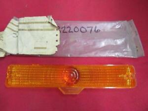 Parking Light Lens 69-73 AMC Matador Ambassador Wagon NOS 3220076 Or J3220076