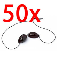 50 X Pairs of Elastic Tanning Goggles - Eye Protection iGoggles for Sunbed Use