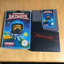 Nintendo NES boxed game-Capitaine Skyhawk