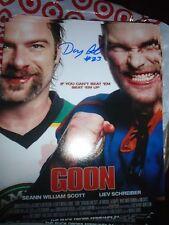 Halifax Highlanders Doug Glatt Autographed Signed 8x10 Doug Smith Real Goon #2