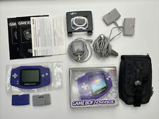 GAMEBOY ADVANCE PURPLE - BOXED (COMPLETE) + ACCESSORIES