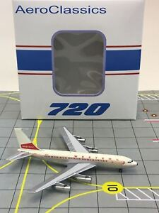 "AeroClassics 1:400 Western Airlines Boeing 720 N3154 ""Old Colors"""