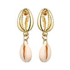 Statement Dangle Drop Earrings Bride Jewelry New Women Summer Sea Shell Pendant