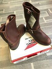 Red Wing Heritage Made in USA Engineered Boots 02970 size US 8 eu 41 UK 7