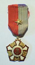 DECORATION - medaille FEDERATION MUSICAL NORD PAS DE CALAIS (5747J)