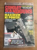 Combat Handguns Magazine November 2000 Unopened **MINT**