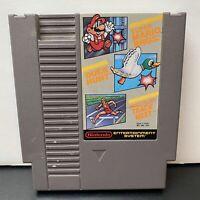 Super Mario Bros. / Duck Hunt / World Class Track Meet (Authentic Nintendo, NES)