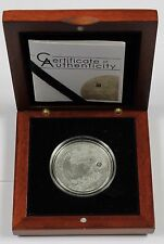 Cook Islands 2009 Moon Lunar Meteorite 40th & 50th Anniversary $5 Silver Coin
