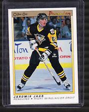 JAROMIR JAGR Rookie 1990-1991 O Pee Chee OPC Premier #50 Penguins Future HOF