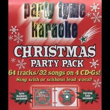 Party Tyme Karaoke: Christmas Party Pack by Karaoke (CD, Oct-2005, 4 Discs) NEW