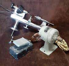 Vintage Watchmaker Jeweler Lathe  Watch-Craft Marshall Very Nice Runs Sweet