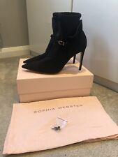 Sophia Webster Lucia Ankle Boot Black high heels shoes EU42 UK 9
