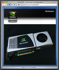 nVidia Quadro FX4800 1.5Gb Pro Graphics Video Card For Apple Mac Pro 3,1-5,1