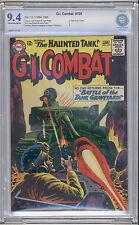 G.I. Combat #109 CBCS NM 9.4 Haunted Tank Joe Kubert grey tone cover