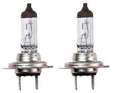 50/% Headlight Bulbs For Peugeot 207 06-16 Side//Low//High Beam 501 H7 H1 Xenon