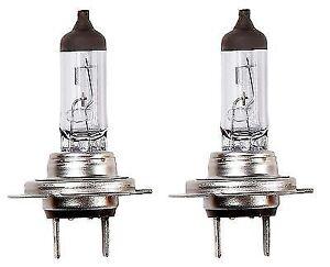 2 x Ring H7 477 499 12v 55w Px26d Halogen Car Headlight Headlamp Bulb Boxed !!!