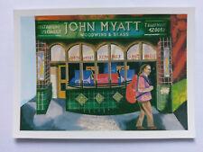 Hitchin Vintage colour Postcard c1970s John Myatt Woodwind & Brass Specialist
