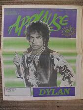 SCARCE / VINTAGE BOB DYLAN / APPLAUSE VOLUME 3 #7 AUGUST 1990 PORTLAND, OR XLNT
