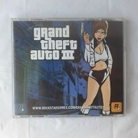 Grand Theft Auto III PC 2002 Windows Mac CD Rom Complete with Manual Free Ship
