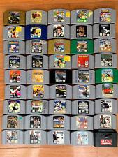 Authentic Nintendo N64 Games - Mario Zelda Pokemon Smash Bros. 007 - U PICK!