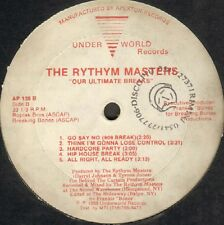 The Rythym Masters – Our Ultimate Breaks 1989 Underworld Records - AP 138 Usa