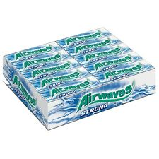 30 x Wrigley´s Airwaves Chewing Gum (STRONG) *NEW SIZE + FREE SHIPPING*