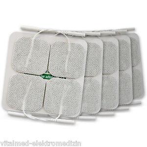 4 Stk. selbstklebende TENS-Elektroden 50x50mm | Schmerztherapie | Sonderangebot