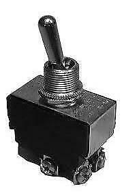 Philmore 30-135 Heavy Duty Toggle Swtich, SP3T, ON-ON-ON, Screw Terminal, NOS