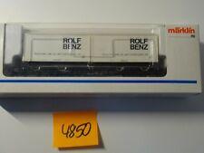 Märklin H0 Artikel  Art  4850 Containerwagen Rolf Benz   neu/OVP