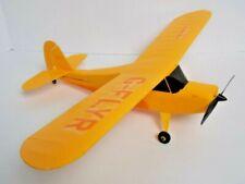 Champ RTF HobbyZone Remote Control Airplane Goldenrod Extra Parts 2010 EUC