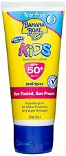 banana boat Kids Water Resistant Tear Free Sunscreen Lotion SPF 50 PA ++++  90ml