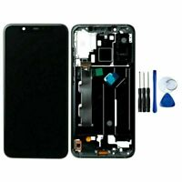 For Xiaomi Mi 8 LCD Display Touch Screen Digitizer Frame Replacement Assemb