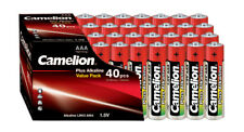 400 x Camelion AAA Batterie LR03 1,5V Plus Alkaline High Energy Micro Box