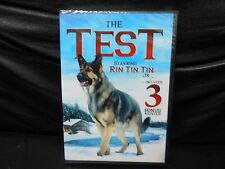 The Test : Rin Tin Tin Jr. (DVD, 2016) Plus 3 Bonus Movies....B&W
