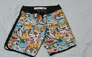 Mambo Board Shorts NEW Men's Size 32 - Kirks Limited Edition Loud Summer Design