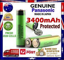 Panasonic NCR 18650 B 3400mAh PROTECTED Lithium Li-Ion Rechargeable Battery