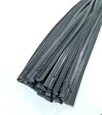 """10 Pcs Black Color Quality Rubber Wiper Blade Refill Length 26"""" Width 6 mm"""