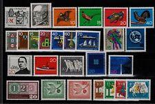 Bund Jahrgang 1965 - Auswahl aus Michel Nr. 462 - 488 , ** , postfrisch